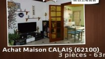 A vendre - maison - CALAIS (62100) - 3 pièces - 63m²