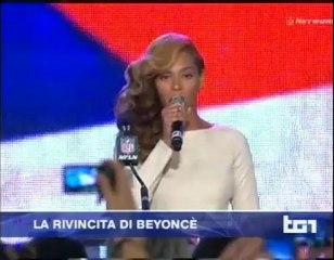 TG1 Servizio su Beyoncé 01 feb 2013