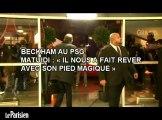 Blaise Matuidi : « Ce sera un honneur de jouer avec Beckham »