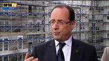 """Hollande : """"Je vais au Mali demain pour dire à nos soldats notre fierté"""" 01/02"""