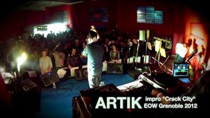 "ARTIK impro ""Crack City"" @ EOW Grenoble 2012"