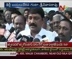 Samaikya Andhra JAC leaders-Ganta talking to media