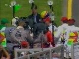 GP Australia, Melbourne 2002 Intervista a Giancarlo Minardi e festeggiamenti di Webber