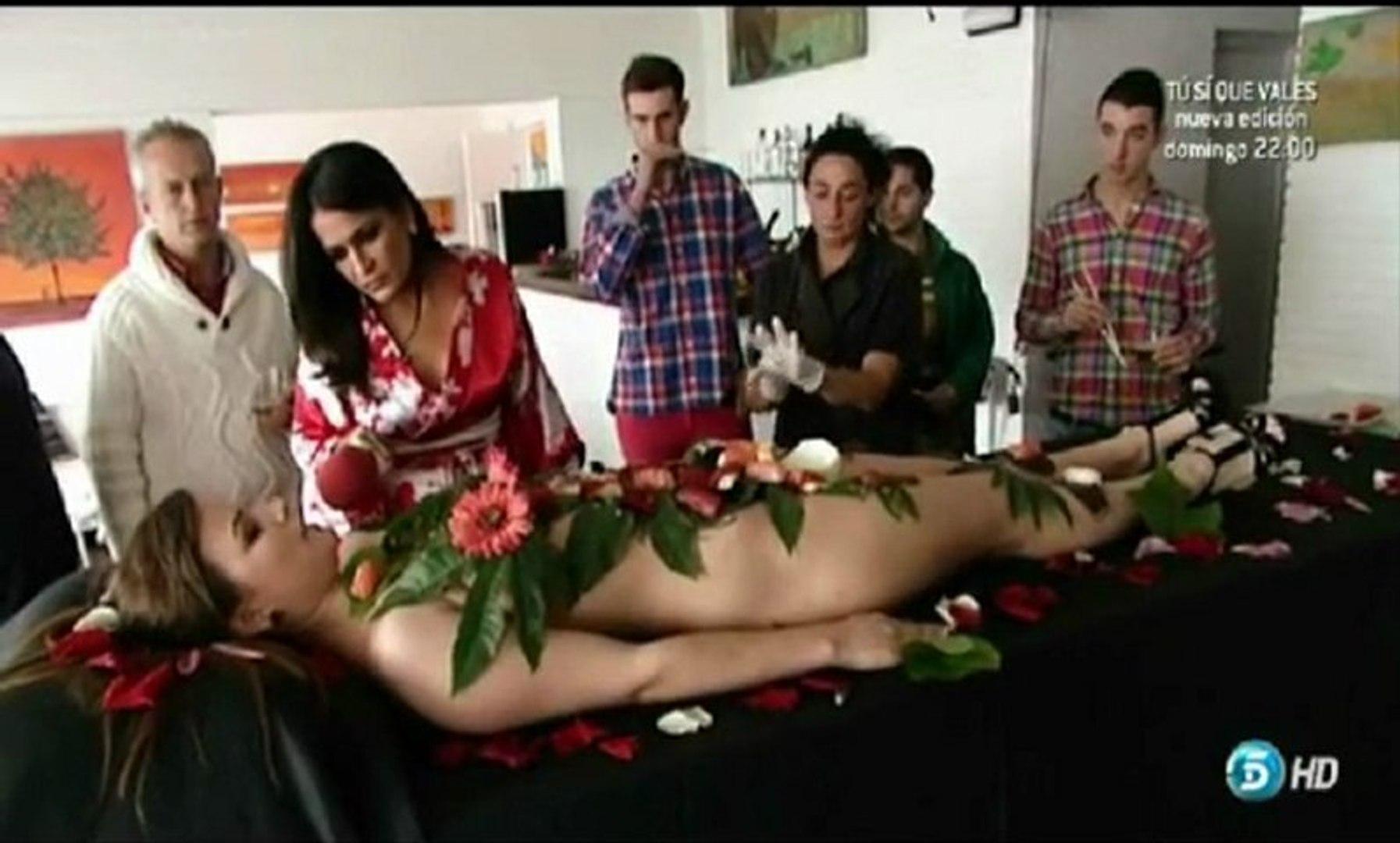 """Aida Nizar Desnuda 65ª """"sqp"""" aida nizar desnuda. body sushi, (01.02.2013) sÁlvese quien pueda  con aida nizar."""