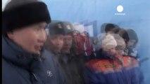 Plongée extrême en Sibérie