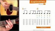Jouer Wonderwall à la guitare - Explication détaillée