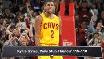 Cavaliers Stun Thunder; Knicks Cruise