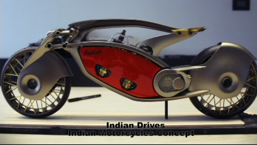 Indian Motorcycle concept by Wojtek Bachleda