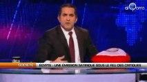 Egypte : Une émission satirique sous le feu des critiques