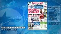 Mario Balotelli met la presse italienne à ses pieds