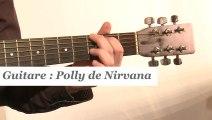Cours guitare : jouer Polly de Nirvana à la guitare - HD