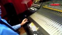 Soprano enregistrement de La Colombe à Soul Spirit Studio