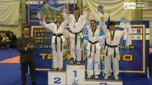 Icaro Sport. Ginevra Graf e Alessandro De La Rua campioni italiani Juniores di Taekwondo