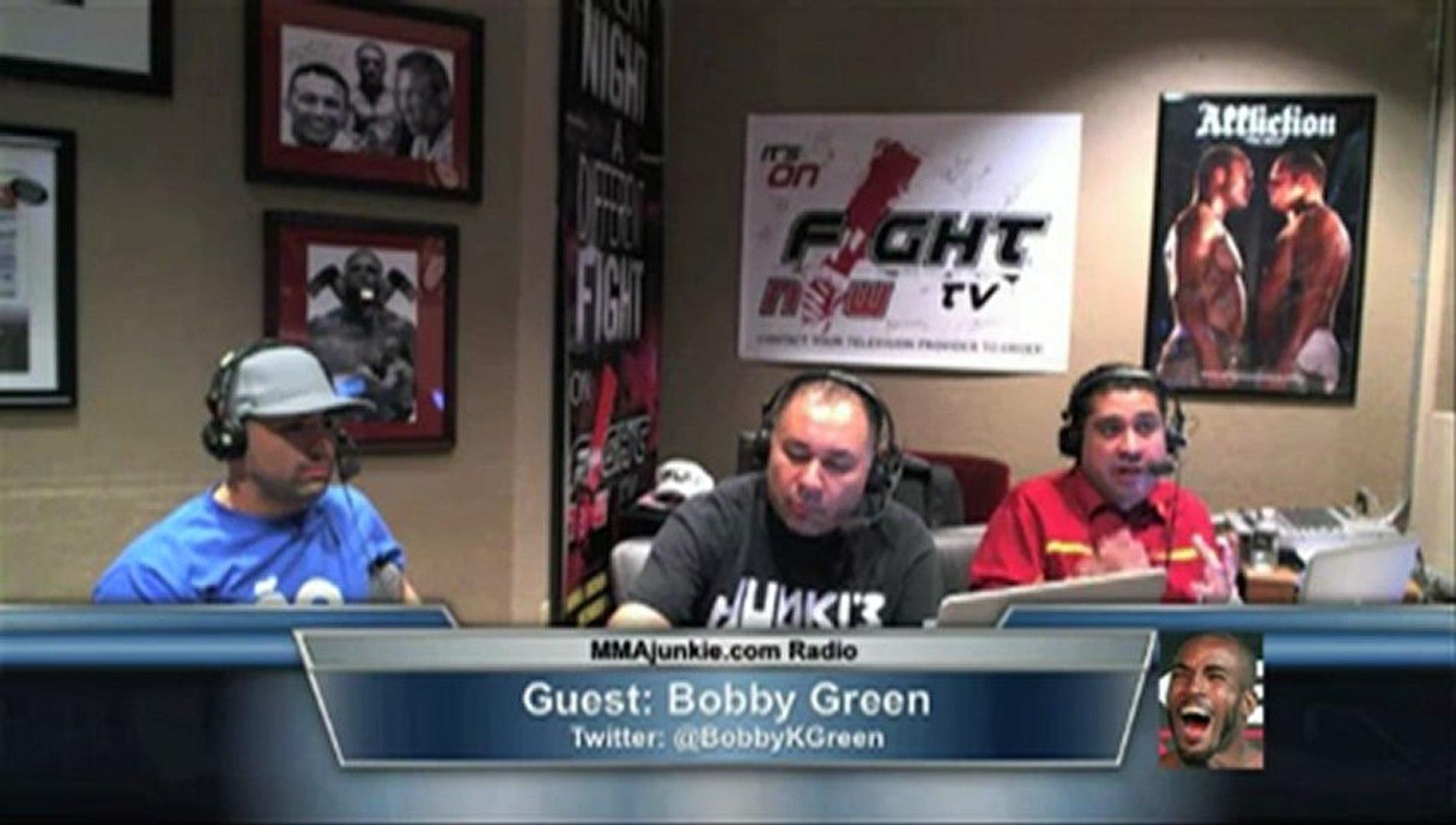 Bobby Green on MMAjunkie.com Radio