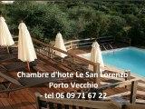 chambre d'hote porto vecchio - tel 06 09 71 67 22 - chambre d'hote porto vecchio