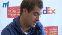 """Richard Gasquet : """"dès que je peux, je viens voir Loulou Nicollin"""" - Open Sud de France - Montpellier"""