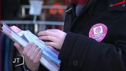 TV Vendée - PS & MJS ensemble sur le terrain pour défendre l'égalité des droits et la bataille pour l'emploi !