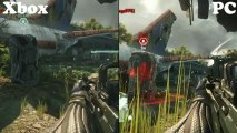 Crysis 3 - PC Vs. Xbox 360 Side by Side Graphics Comparison (HD) 1080P Maxed Settings