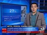 """INTERNETUL, PERICOL PENTRU COPII - rezumat studiu """"Salvati copiii"""" (2013)"""
