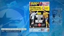 Zlatan Ibrahimovic s'incline devant Messi !