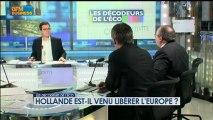 Hollande est-il venu libérer l'Europe ? - 5 février - BFM : Les décodeurs de l'éco 2/5