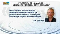 Les services à la personnes se portent bien : Charles Dauman - 6 février - BFM : GMB