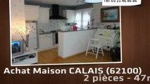 A vendre - maison - CALAIS (62100) - 2 pièces - 47m²