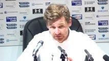 Andre Villas-Boas Reaction - Tottenham vs Newcastle
