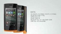 Nokia 500 Black Symbian Anna OS GSM Cell Phone