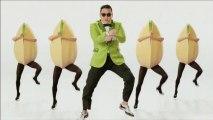 """Psy danse le """"Gangnam Style""""  avec d'énormes pistaches pour la marque Pistachio"""