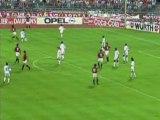 ЛЧ 1992-1993 обзор матча  Марсель-Милан (1 тайм ) ФИНАЛ.