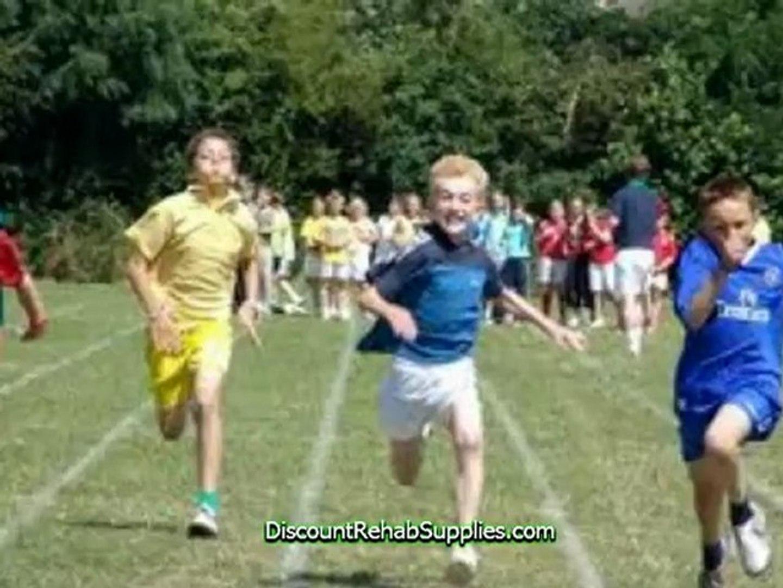Cute Kids Playing Sports