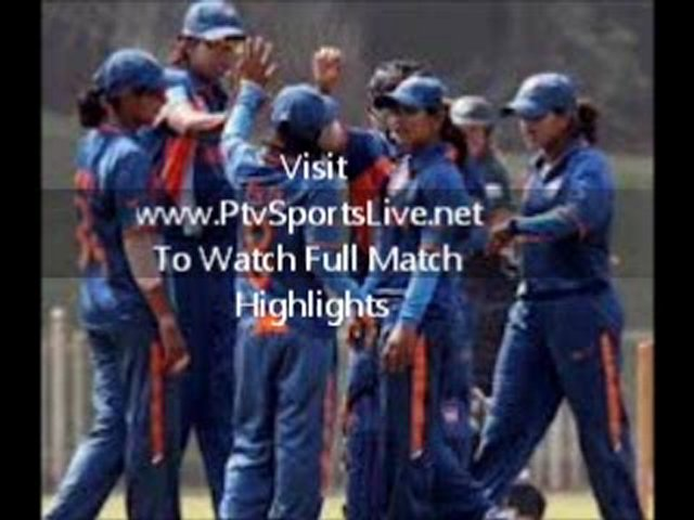 Live ICC Women's World Cup Full Highlights India Women's Vs Pakistan Women's Feb 7 2013