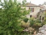 PN2320 Immobilier Tarn.  Cordes sur Ciel,  Demeure de caractère du XIIIème siècle, 300 m² de SH, 8 chambres,  à restaurer, avec jardin  de 650 m² attenant.