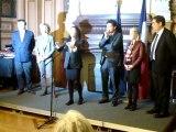 Claude-Annick Tissot présente ses voeux 2013 à la mairie du XIe arrondissement