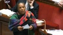 Taubira renvoie Douillet à ses propos homophobes et misogynes