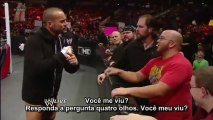 CM Punk promo - WWE Raw Legendado CM Punk declares he will get the WWE Championship back from The Rock Raw 02/04/13