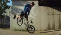 BMX - Flat and freestyle session -Tim Knoll
