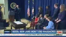 Caught on Camera - Joe Biden Admits Gun Control will Not Stop Mass Shootings - CNN