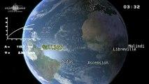 Décollage d'Ariane 5, vol 212