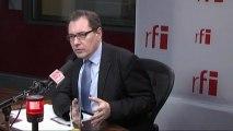 Robert Rochefort, député européen du Modem et  vice-président du Mouvement Démocrate