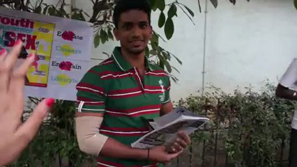 Rahul Kadam's proposal to Youth Inc.