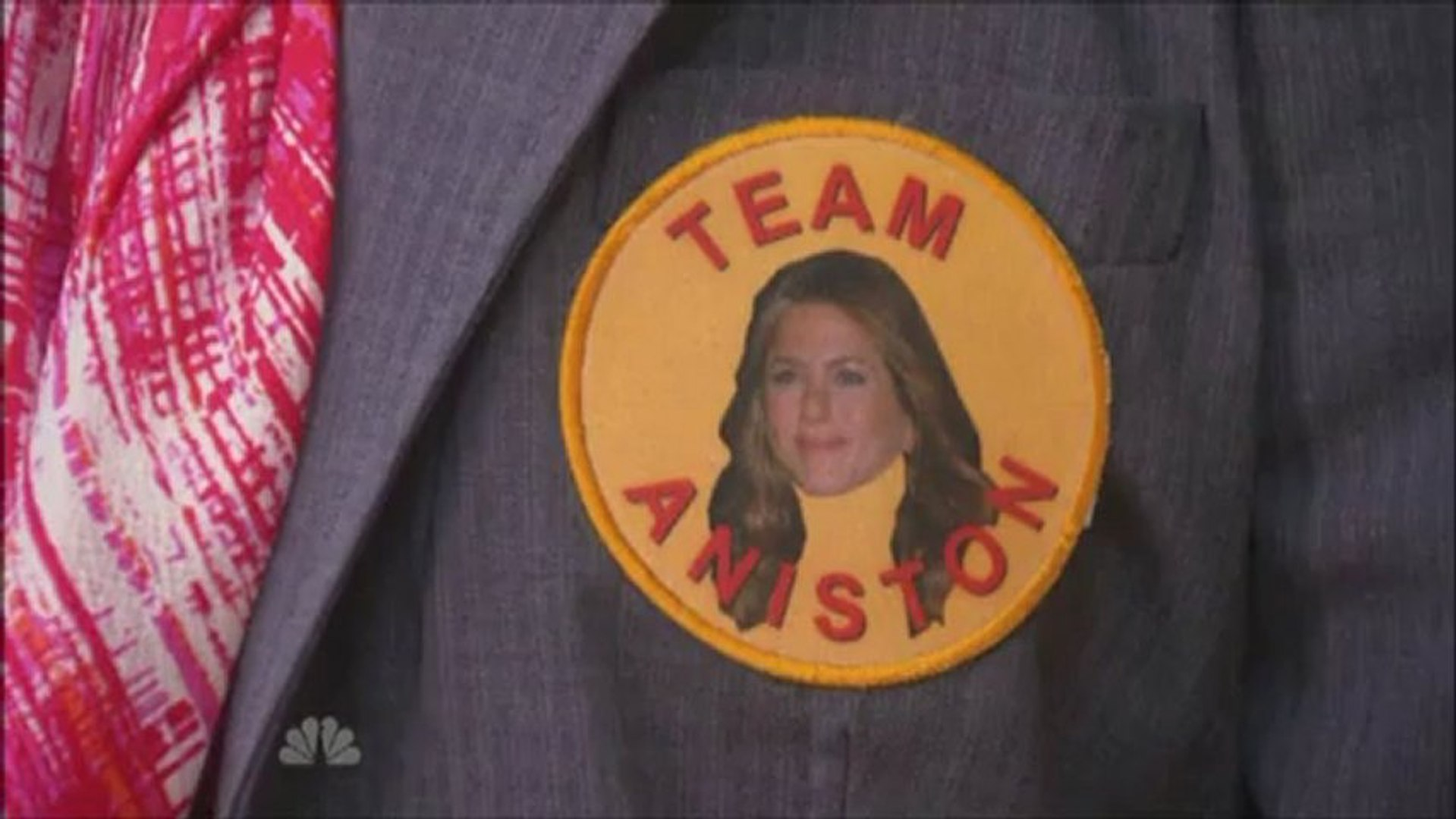April Wearing Leslie's Clothes