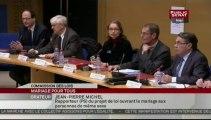 """Audition dans le cadre du projet de loi du """"Mariage pour tous"""" - Auditions des représentants des associations familiales"""