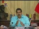 """Maduro: """"Estamos buscando el equilibrio, la estabilidad y protección de nuestra moneda"""""""