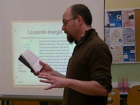 Jacques Lusseyran et la parole énergie