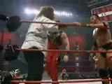 triple h and kane vs mankind and the rock