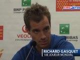 """Open de Montpellier / Gasquet: """"Nieminen est dur à jouer mais ce n'est pas Federer"""" - 08/02"""