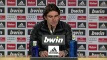 Rueda de prensa de  Karanka tras el Real Madrid - Sevilla