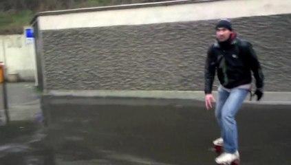 Rando Nico et Dany sous la neige